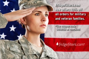 FridgeFilters.com - Veterans Day