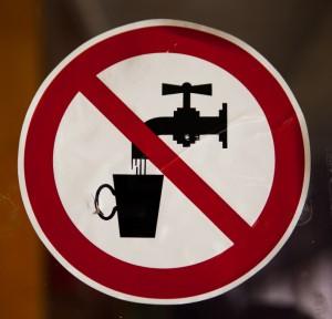 Drinking Water Ban