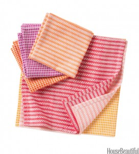 Kitchen Remodeling Idea - Buy New Dish Towels